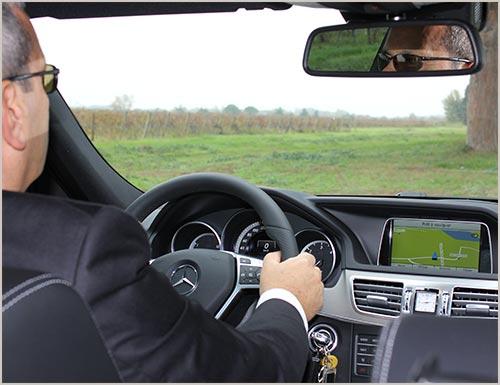 Location de voiture de luxe avec chauffeur privé - CAMARGUE VTC Premium