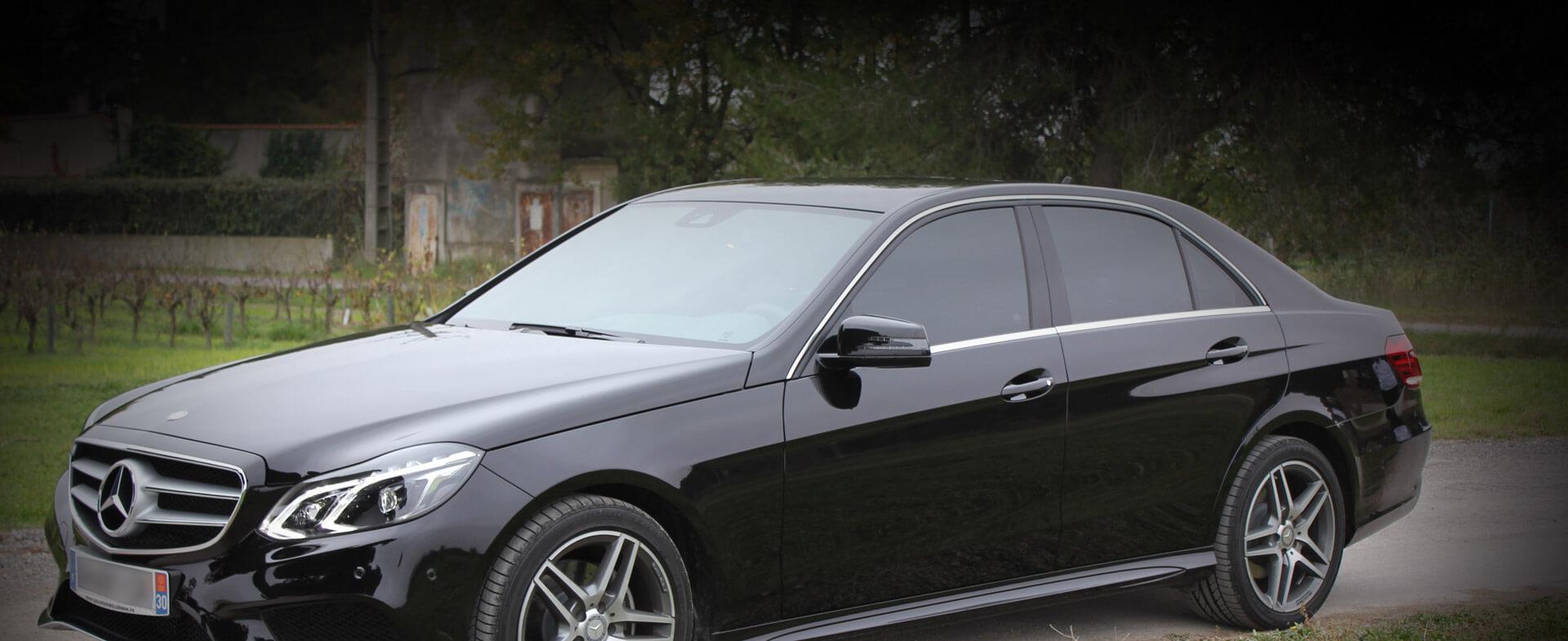 voiture de luxe avec chauffeur - VTC